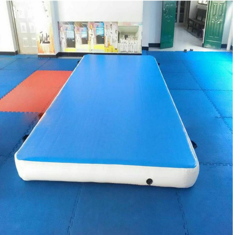 inflatable mat gym mat air tumbling track gymnastics cheerleading aa ebay. Black Bedroom Furniture Sets. Home Design Ideas