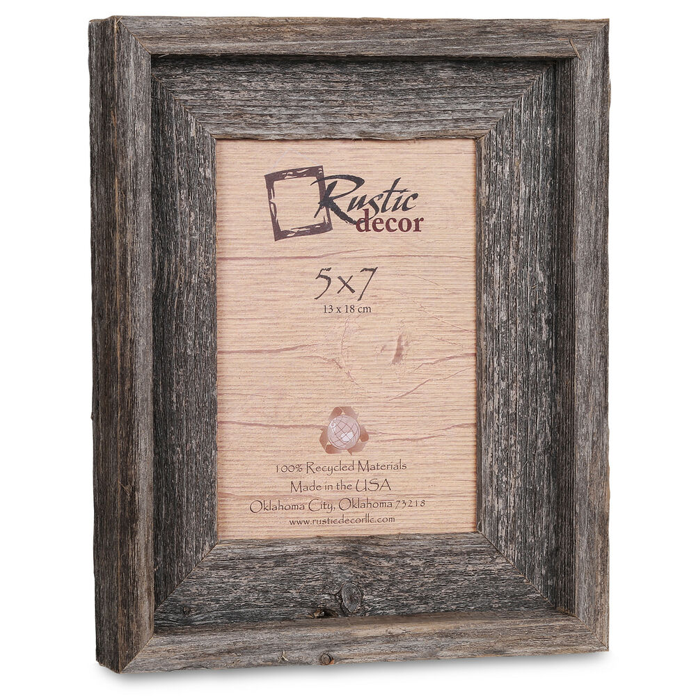 5x7 2 Quot Wide Signature Reclaimed Rustic Barn Wood Picture