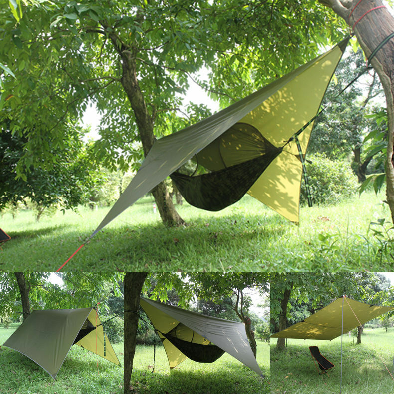 Portable Tree House : Portable camping hanging hammock tree house tent outdoor