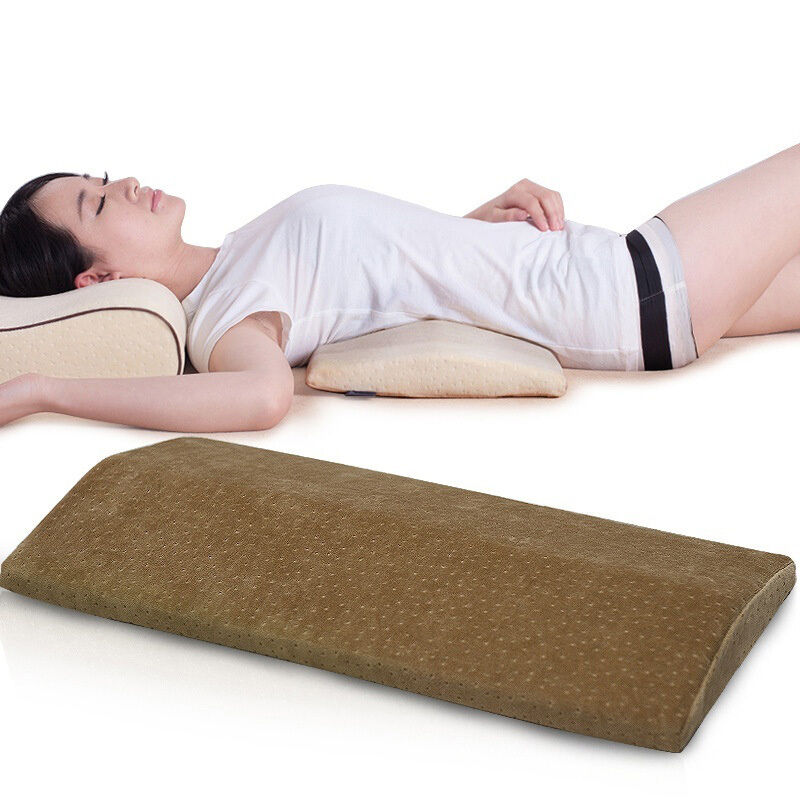 Memory Lumbar Support Cushion Long Sleeping Pillow For