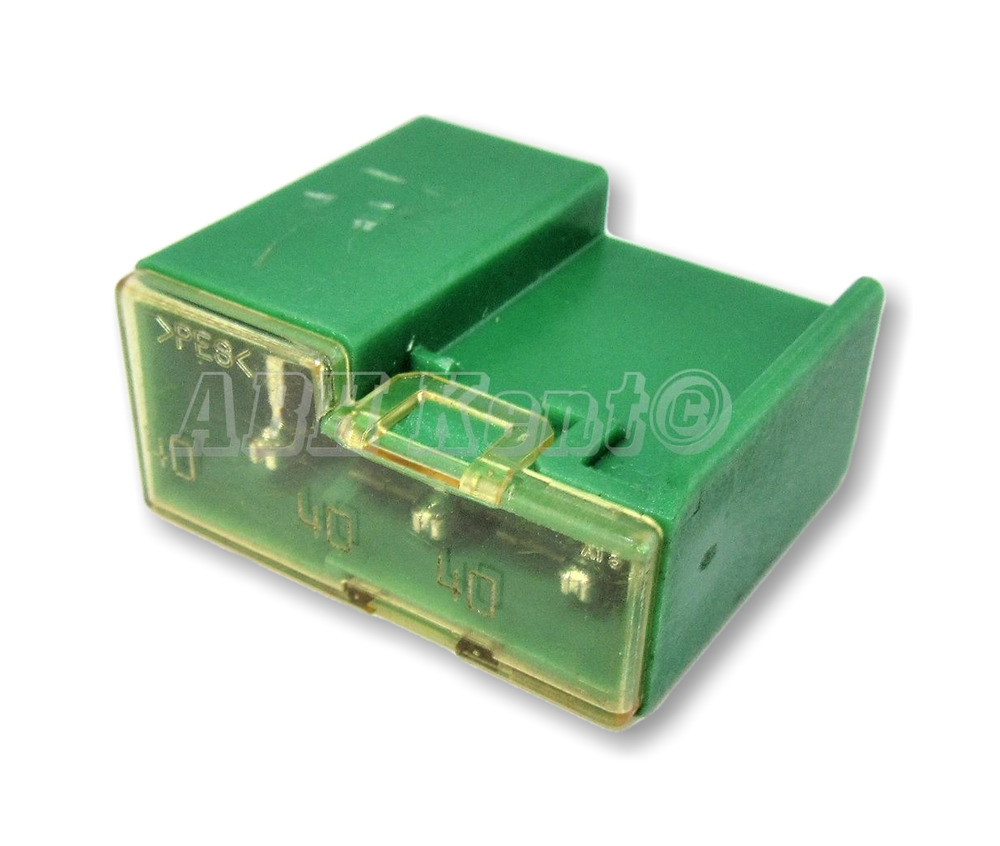 481 Nissan 2003 2015 Radiator Fan Multi Fuse Link Green Fuses 3x 40a Note Box Cover 24370c9900 Ebay