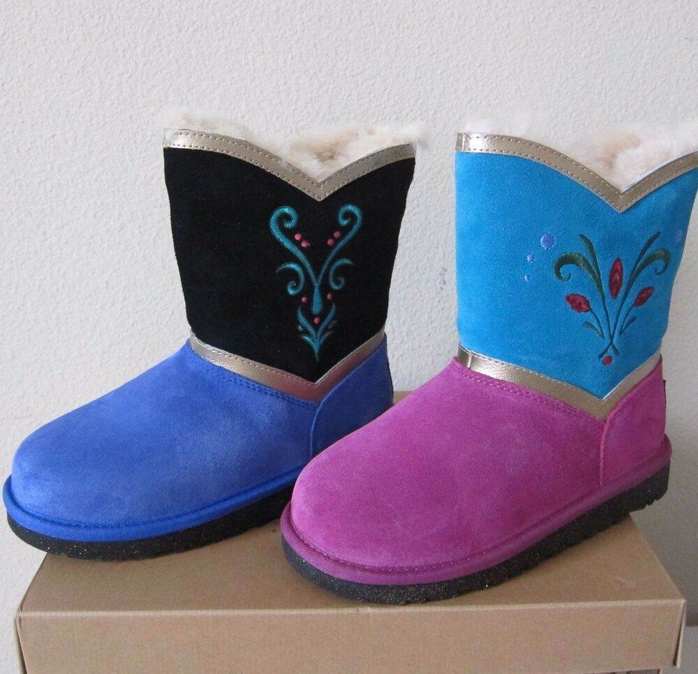 UGG Girls Disney Frozen Coronation Boots Anna Elsa Little Kid - Free creative invoice template official ugg outlet online store