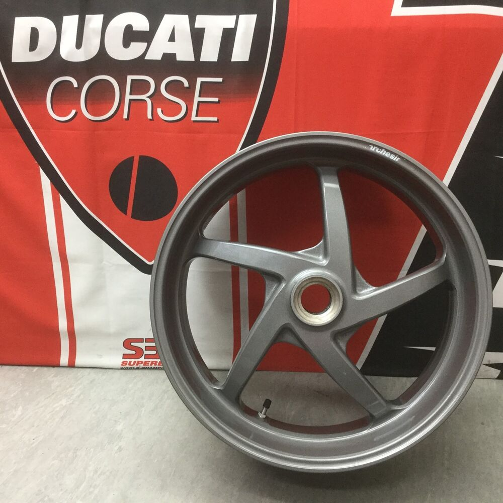 Ducati 748 916 996 998subframe Rearused Motorcycle Wiring Loom Marchesini Magnesium Alloy Rear Wheel 17 X 6