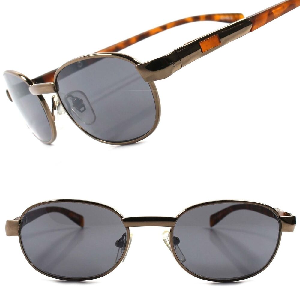 50f0dd758b66b Details about Classic Vintage Retro Indie Brown Tortoise Mens Stylish Oval  Hipster Sunglasses
