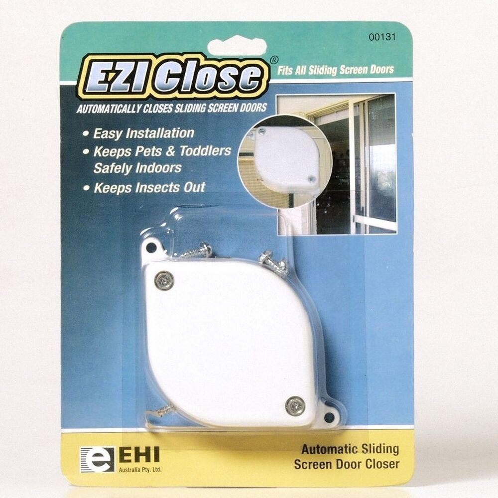 Adoored Ezi Close Screen Door Closer Auto Sliding Keeps