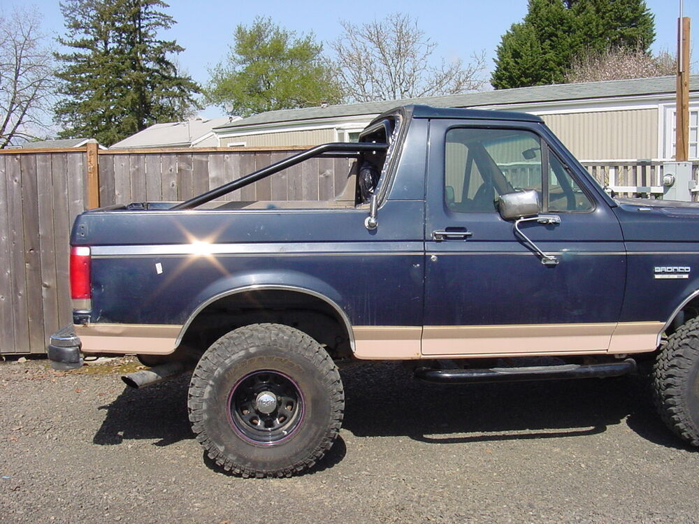 Full Size Bronco Amp Chevy Blazer 4 Point Roll Bar Cage Ford