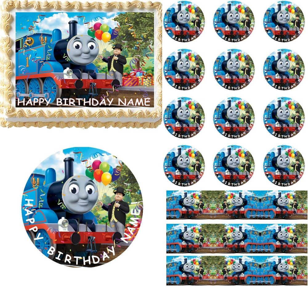 Thomas And Friends Edible Cake Topper Image Frosting Sheet