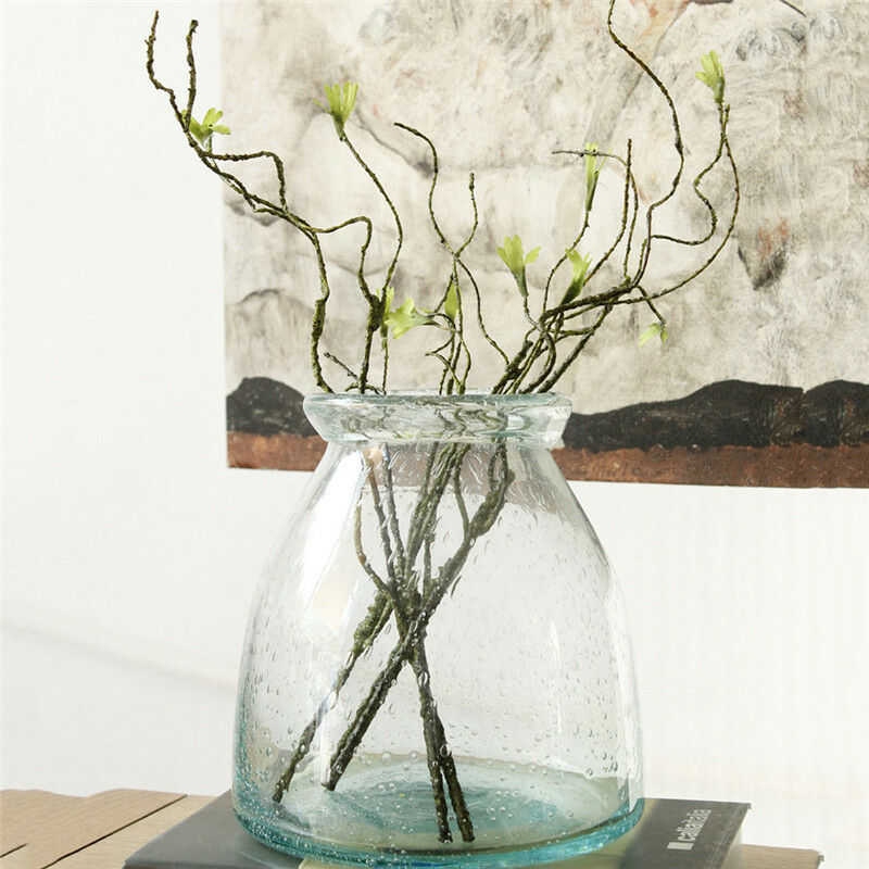 5x artificial flower plastic small tree dried branch plant. Black Bedroom Furniture Sets. Home Design Ideas