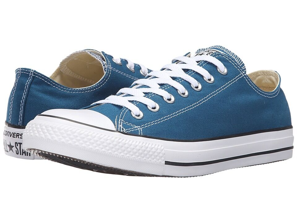 c95c3ac471f1 Details about Converse Chuck Taylor All Star Ox Blue Lagoon Sneakers 153867F