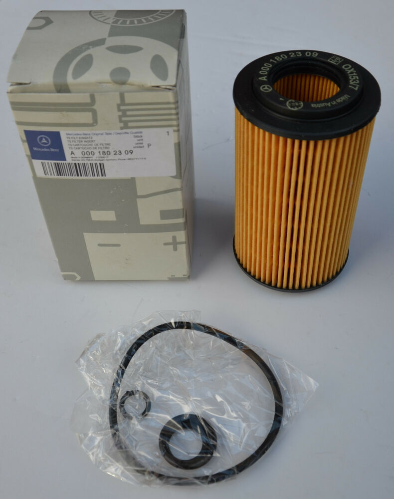 Mercedes benz a 0001802309 original genuine oil filter for Mercedes benz oil