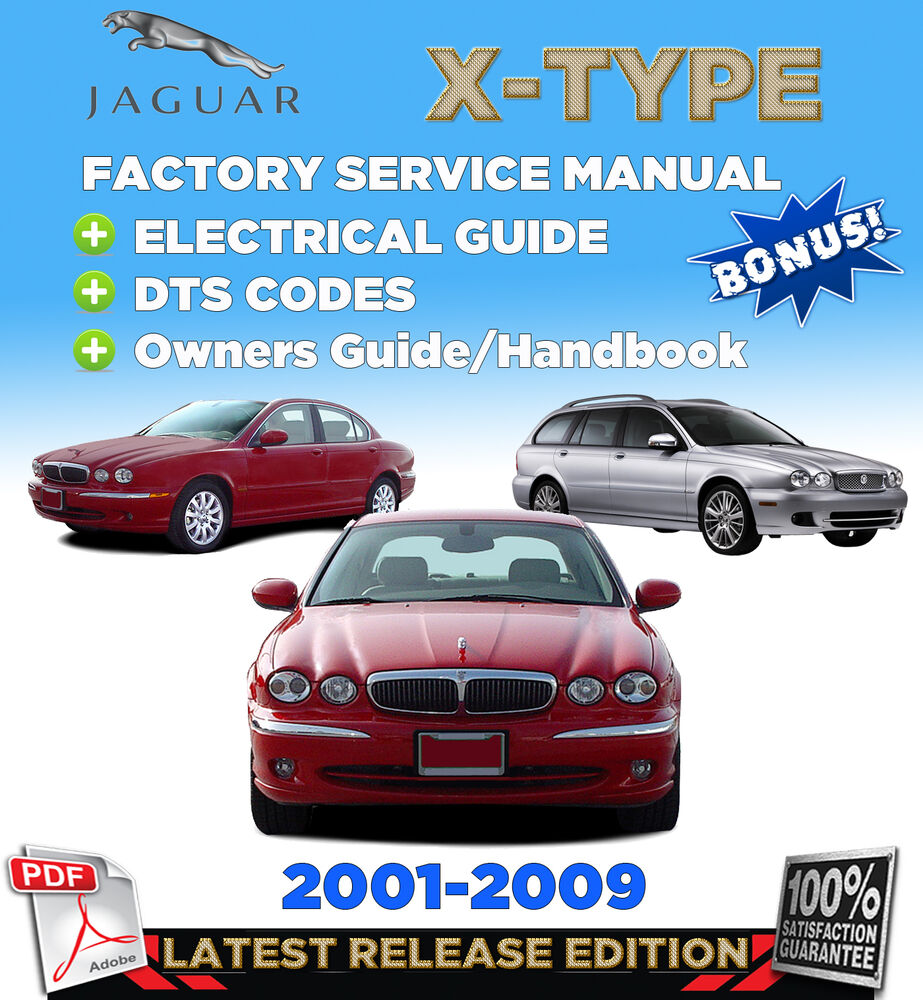 Jaguar S Type Electrical Guide Mark X Wiring Diagram 2001 2009 Factory Repair Service Manual Workshop Rh Cafr Ebay Ca 2005 F