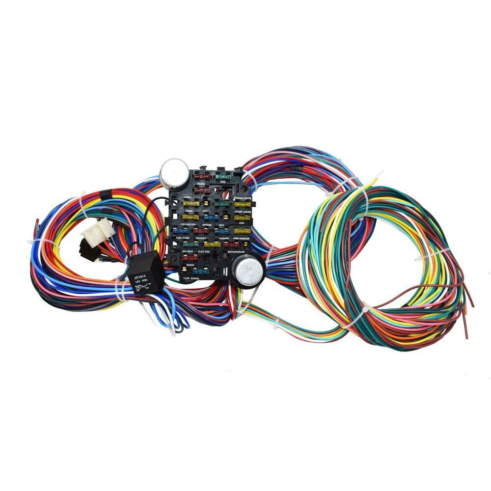 s l1000 64 72 chevy chevelle 21 circuit universal wiring harness wire kit 21 circuit universal wiring harness diagram at bayanpartner.co