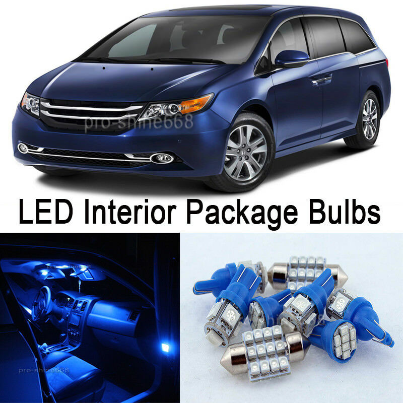 10000k Blue Interior Led Lights Package Bulb Smd For 2004 2008 Ford F 150 F150 Ebay