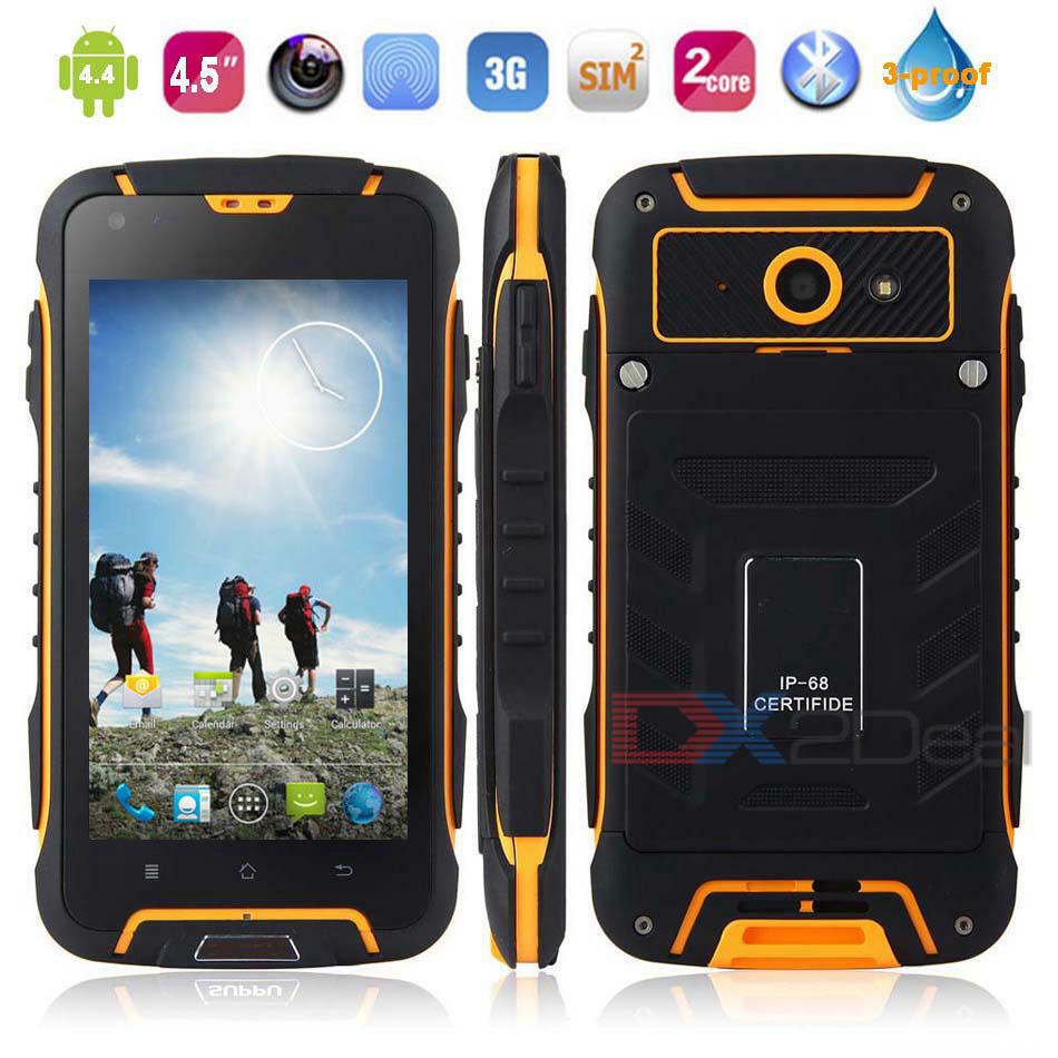 3g Tough Rugged Smartphone Jeep F605 Android Shockproof
