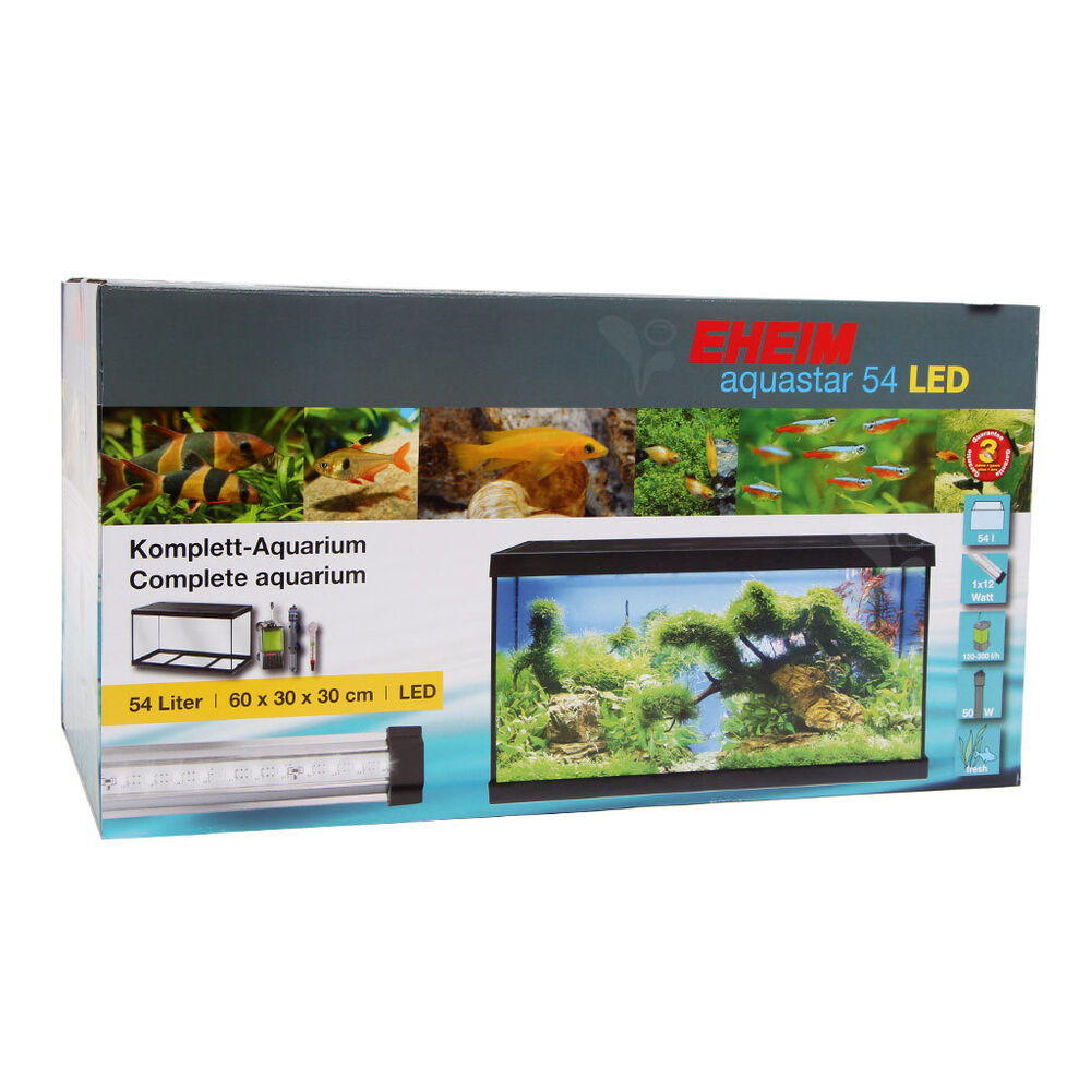 eheim aquastar 54 led aquarium komplettset ebay. Black Bedroom Furniture Sets. Home Design Ideas
