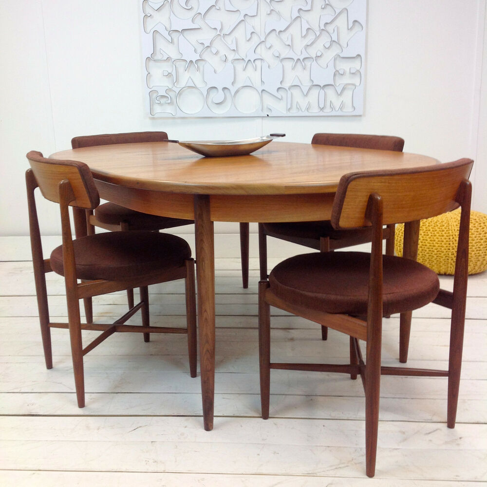 Mid Century Modern Danish Teak Dining Table Chairs In All  : s l1000 from 50han.com size 1000 x 1000 jpeg 133kB
