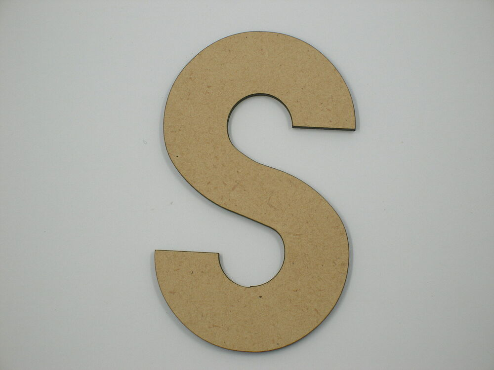20cm large wooden letter words wood letters alphabet name for S letter decoration