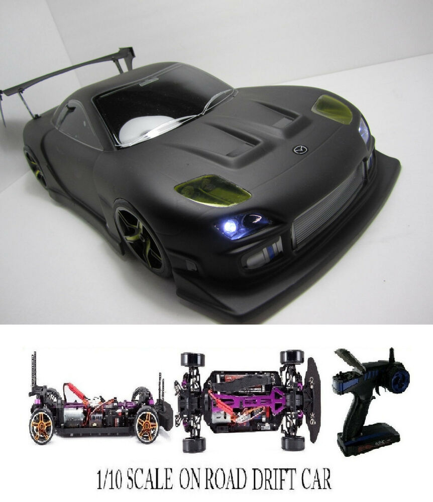 1 10 scale mazda rx7 rtr custom rc drift cars 4wd 2 4ghz charger ebay. Black Bedroom Furniture Sets. Home Design Ideas