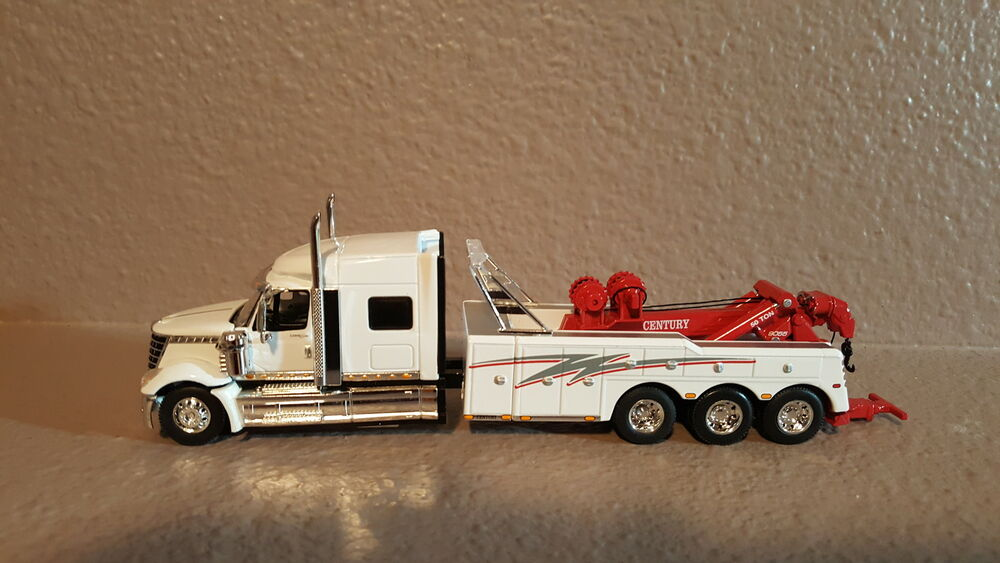 Tri Axle Roll Back : Dcp international lonestar custom tri axle tow truck