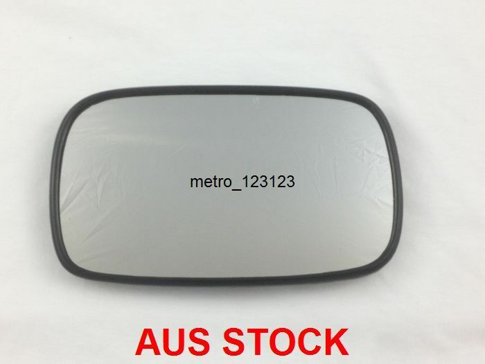 right driver side toyota camry 1997 2002 mirror glass with back plate ebay. Black Bedroom Furniture Sets. Home Design Ideas