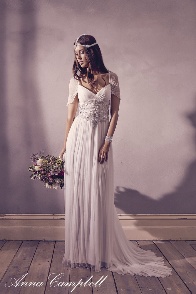Anna campbell beach wedding dresses sexy luxury crystal for Where to buy anna campbell wedding dresses