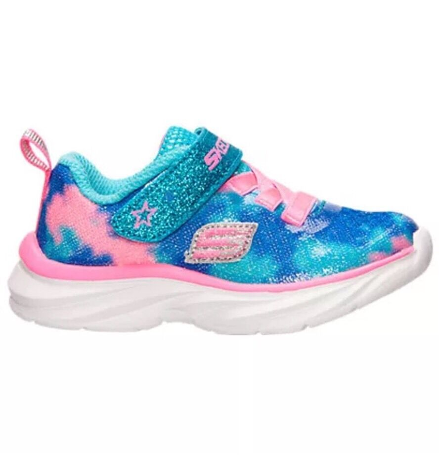 Toddler Girls Kids Skechers Pepsters Shoes Sneakers Size