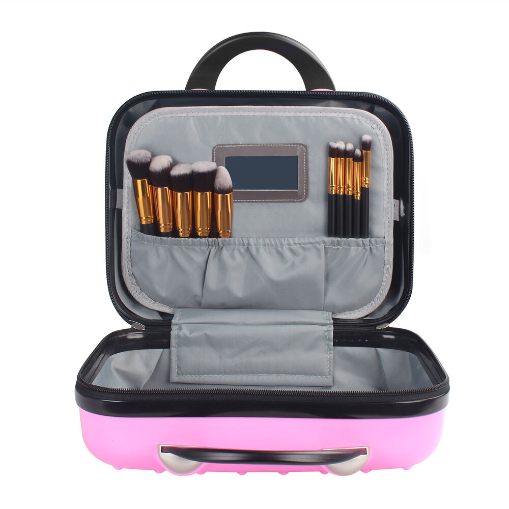 Pro 14 Quot Carry On Travel Makeup Abs Storage Case Box