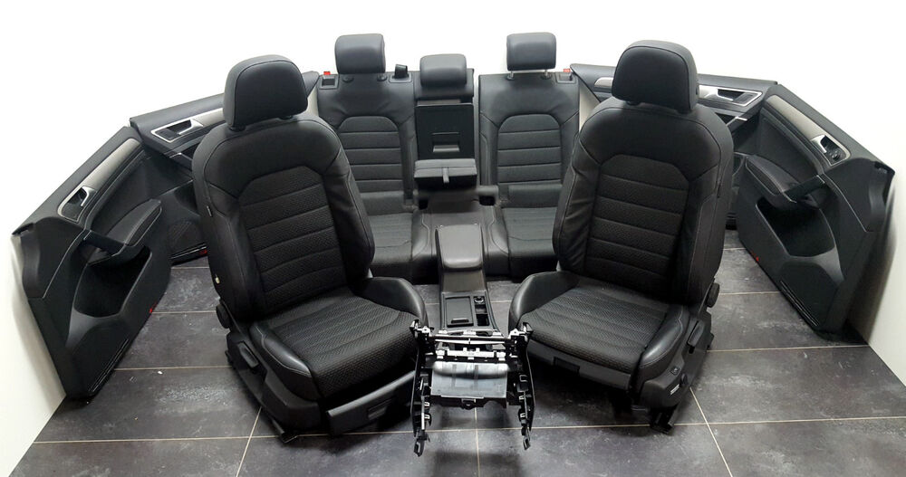 vw golf vii 7 limo innenausstattung teilleder ausstattung. Black Bedroom Furniture Sets. Home Design Ideas