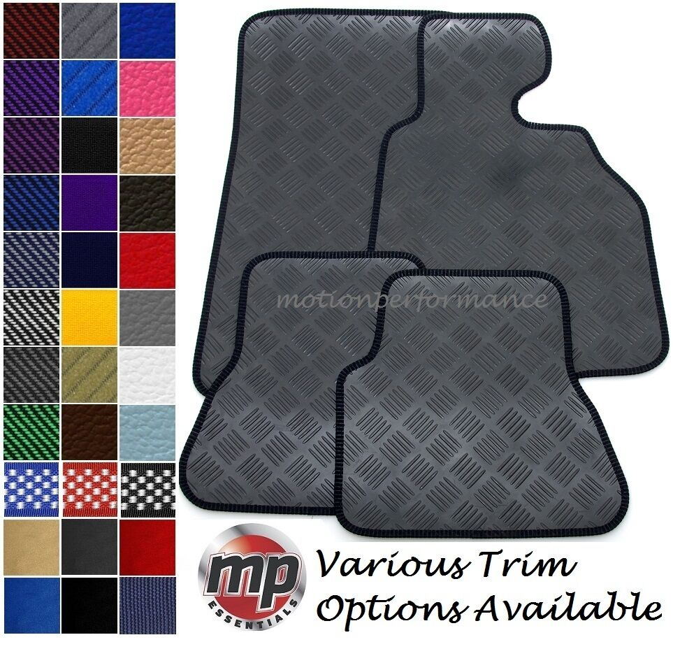 Perfect fit black durable 100 rubber car floor mats set for 100 floors floor 76