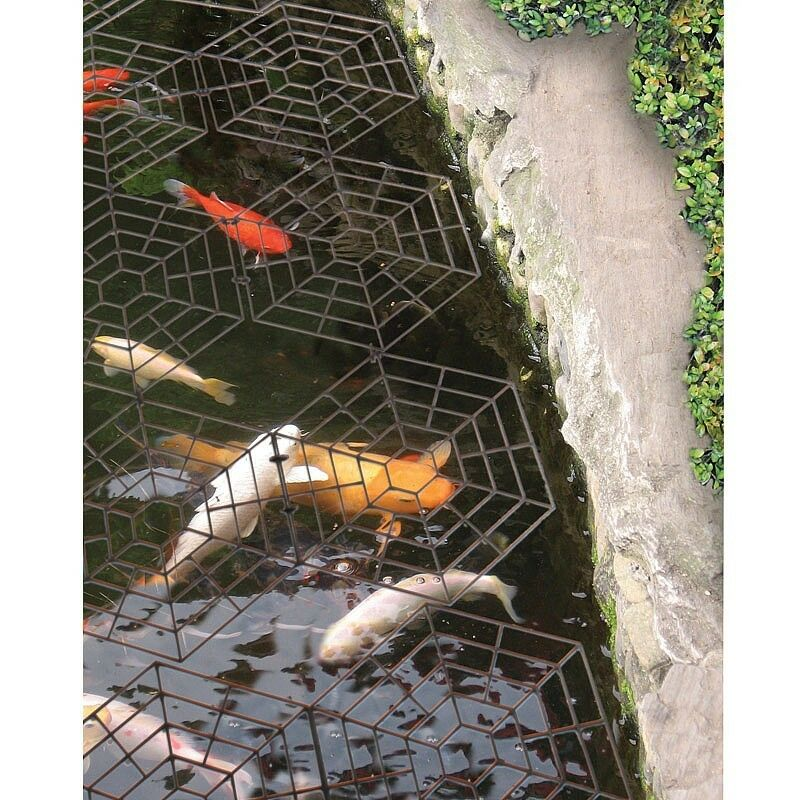Floating garden pond water fish guards protectors covers for Garden pond guards