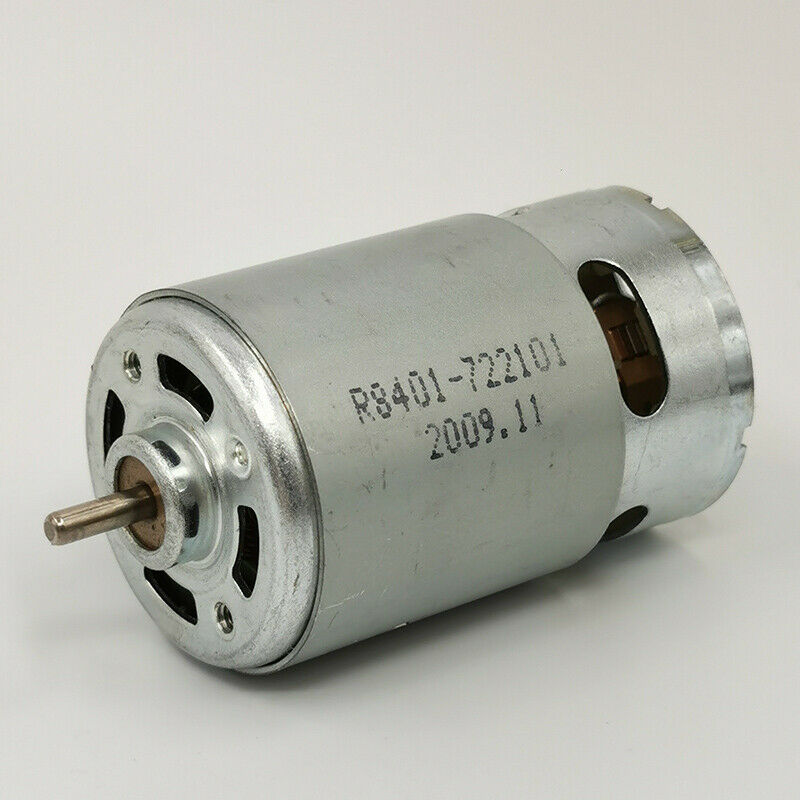 Johnson rs 775 dc motor dc 12v 18500rpm high speed high for Large dc electric motor