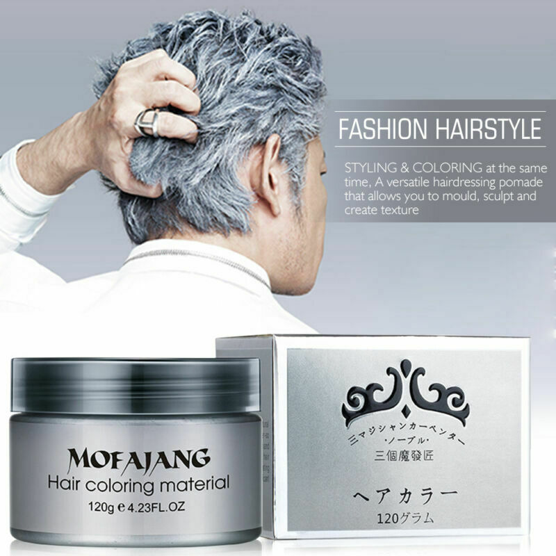 hair styling wax for women silver grey hair pomade professional hair wax 9275 | s l1000