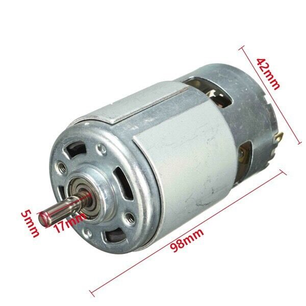12v dc motor for traxxas r c and power wheels 150w 13000 rpm powerful high speed ebay. Black Bedroom Furniture Sets. Home Design Ideas