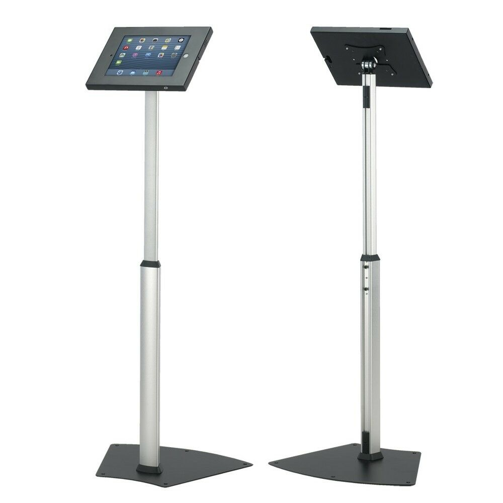 Exhibition Stand Floor : Anti theft tablet ipad air secure floor stand