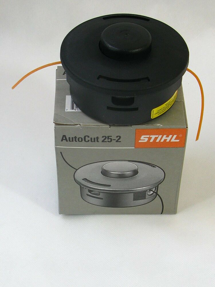genuine stihl autocut 25 2 mowing head round and. Black Bedroom Furniture Sets. Home Design Ideas