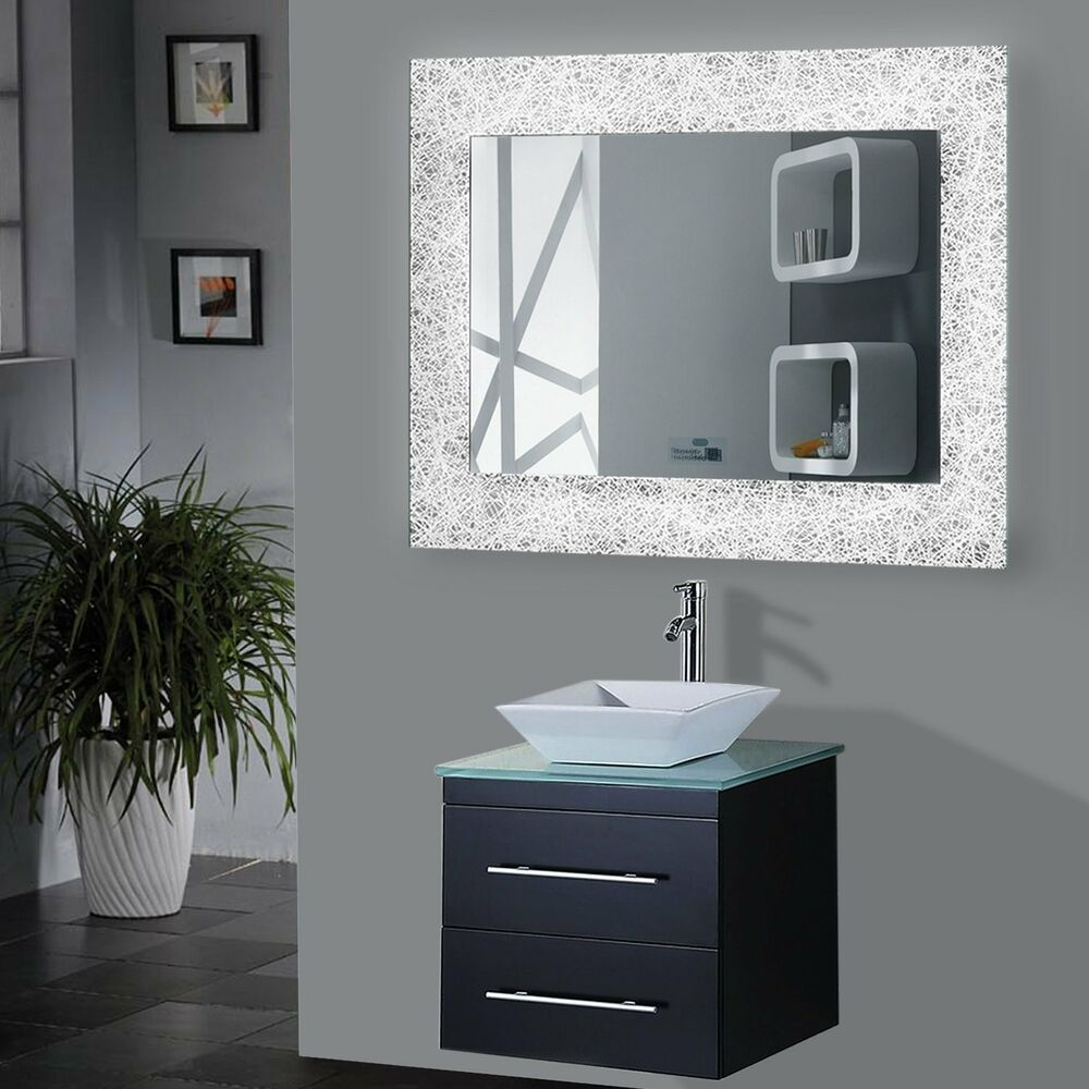 Bathroom Mirror Demister Led Bathroom Mirrors With Demister And Shaver Socket Led