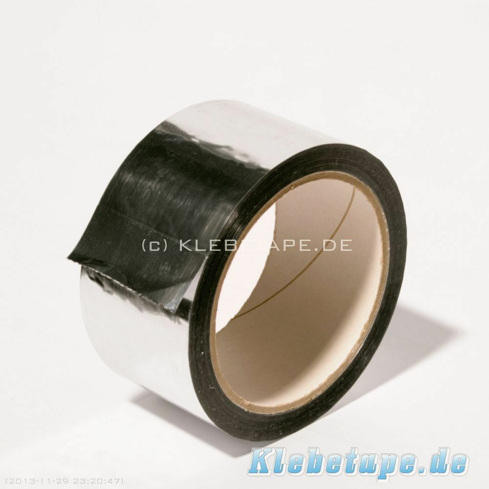 2 x alu pp klebeband 50mm x 50m aluminium klebeband isolierung dampfsperre ebay. Black Bedroom Furniture Sets. Home Design Ideas