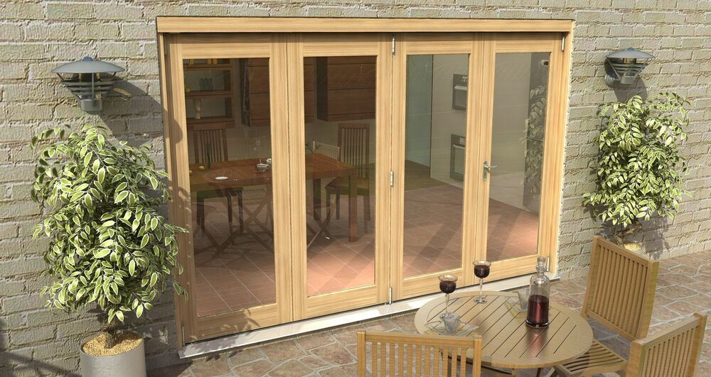 Bifold patio doors 3m 10ft 44mm 1 8 u value for 1500mm french doors
