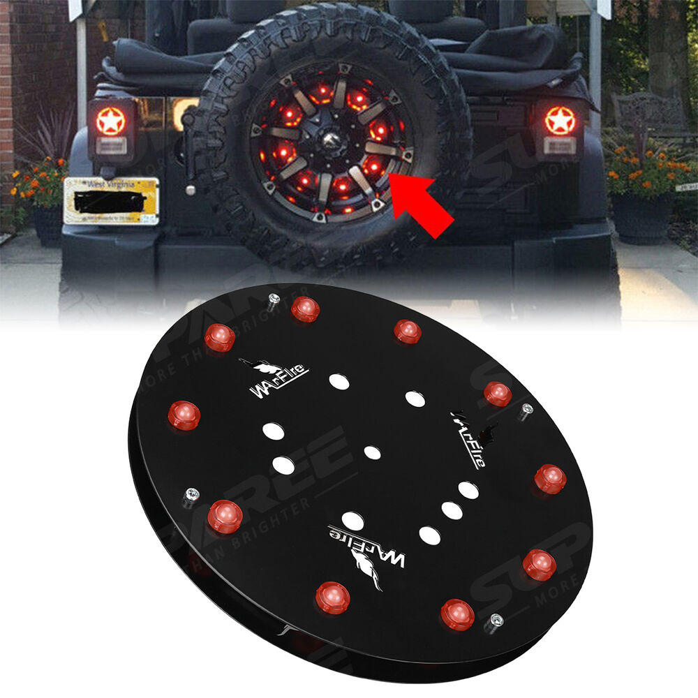 Led Spare Tire Wheel Brake Light Rear 3rd Tail Lamp For