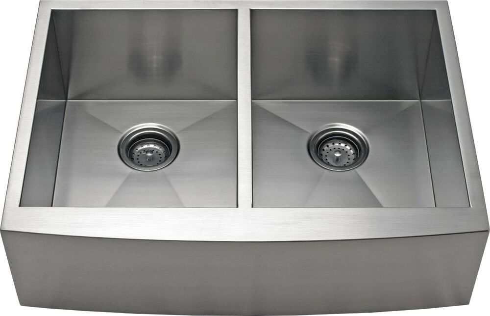 10 inch deep stainless steel kitchen sink 36 quot equal bowl apron farmhouse stainless steel kitchen 9679