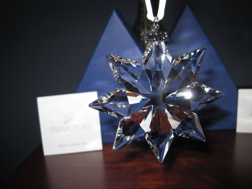 Swarovski Crystal 2013 Annual Christmas LARGE STAR ...