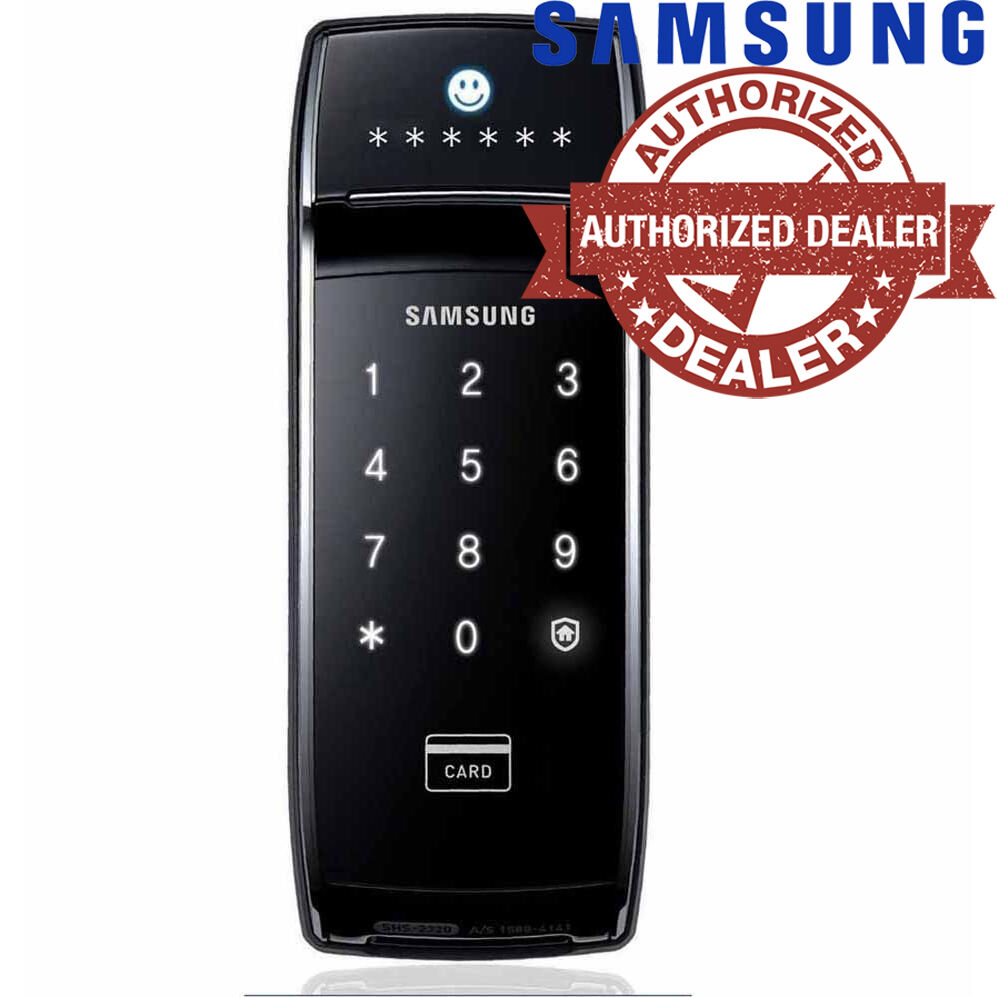 new samsung keyless smart digital door lock shs 2320 english version ebay. Black Bedroom Furniture Sets. Home Design Ideas