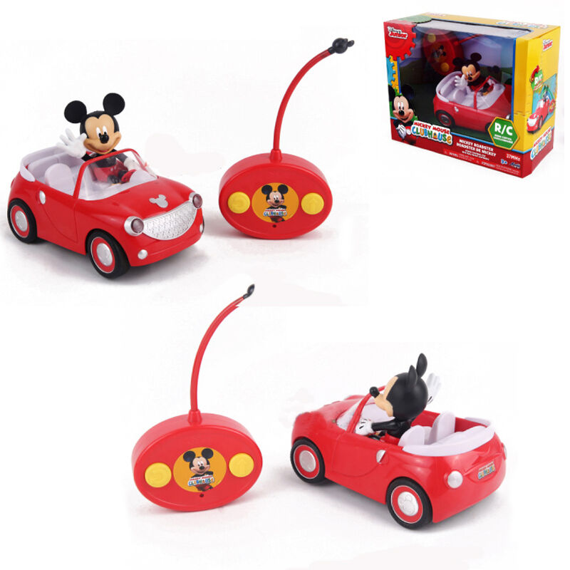 Disney Junior Mickey Mouse Roadster Electric Rc Radio