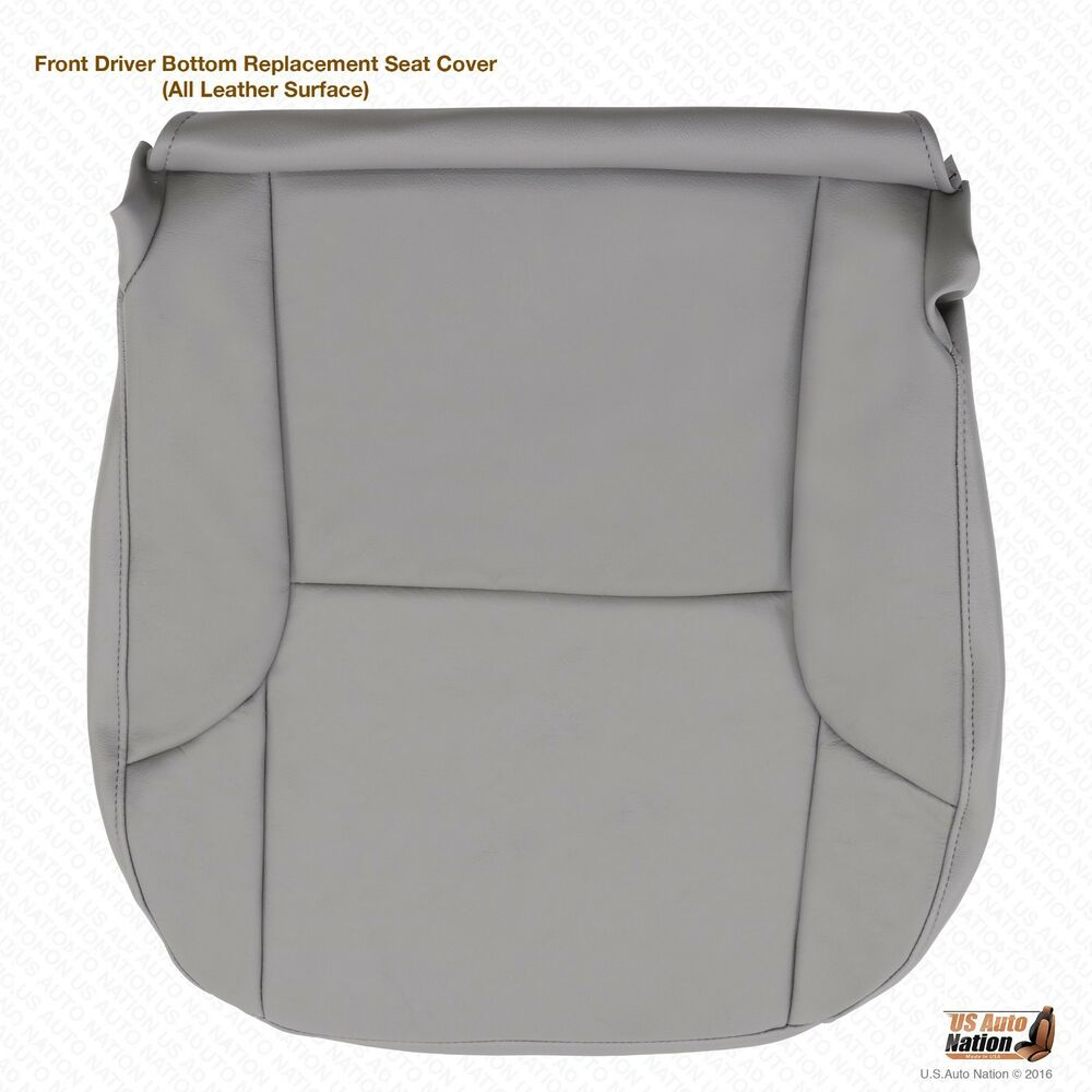 2006 2007 2008 toyota 4runner driver bottom replacement leather seat cover gray ebay. Black Bedroom Furniture Sets. Home Design Ideas