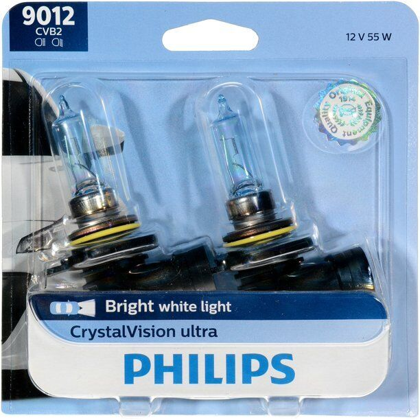 2x Germany Philips 9012 Upgrade Xenon White Ultra