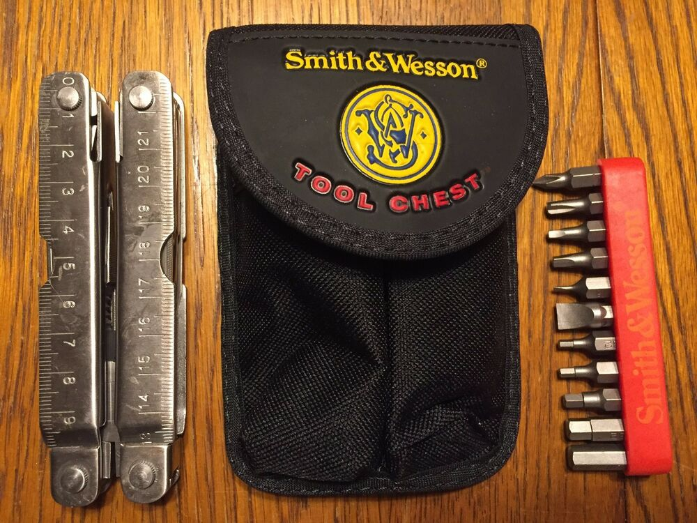 Smith Amp Wesson Swiss Army Knife Multi Tool Chest Ii W