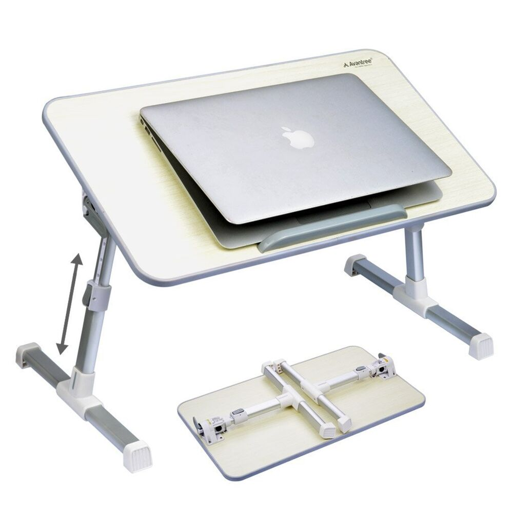 Adjustable portable laptop lazy table stand sofa bed tray for Table ordinateur