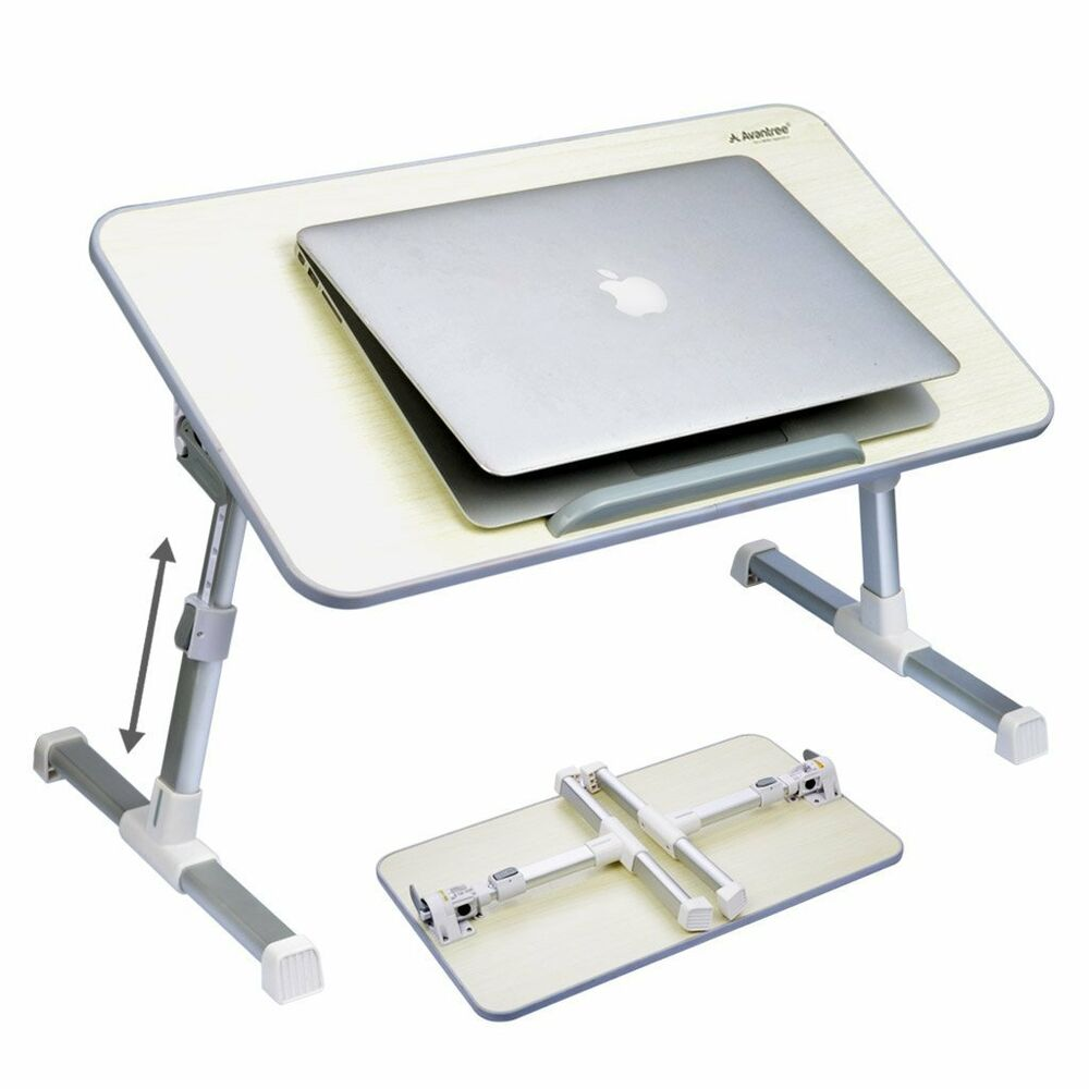 Adjustable portable laptop lazy table stand sofa bed tray for Futon portatil