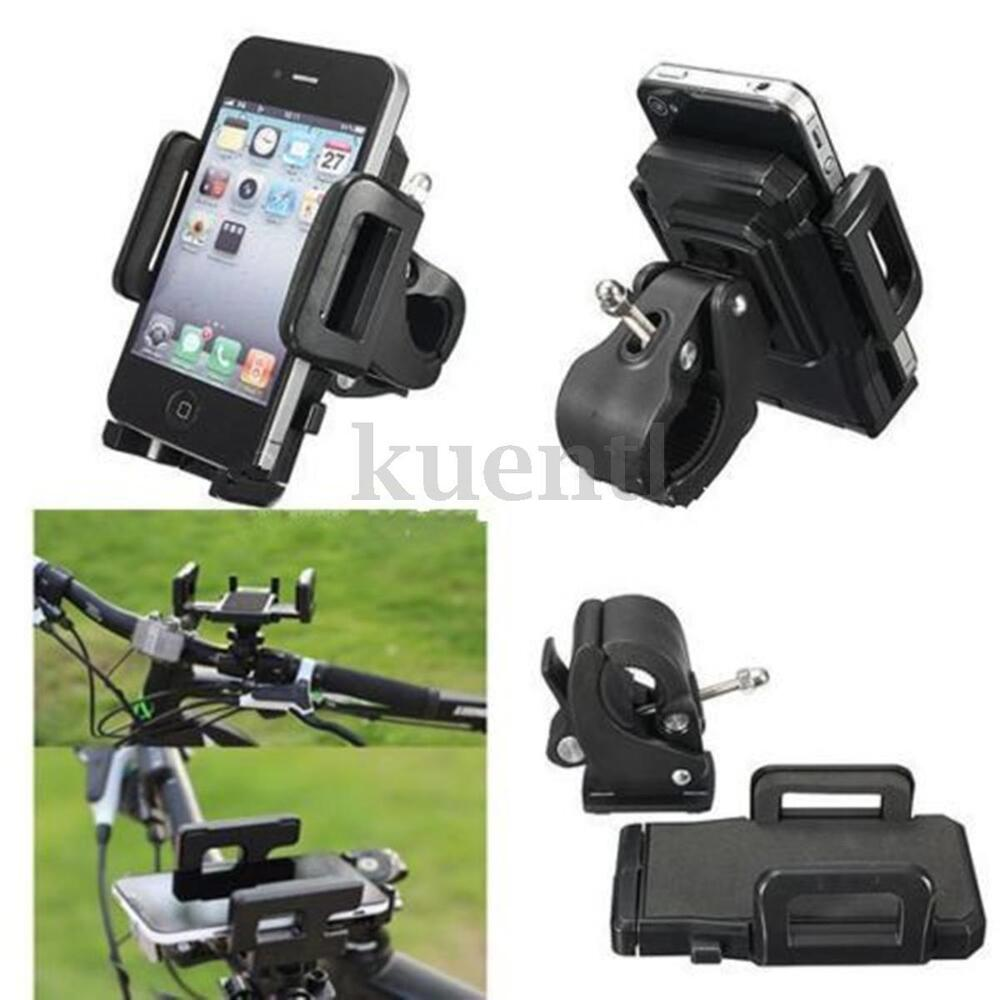 Nuzari Bicycle and Motorcycle Phone Holder Mount Handlebar For iPhone All Phones