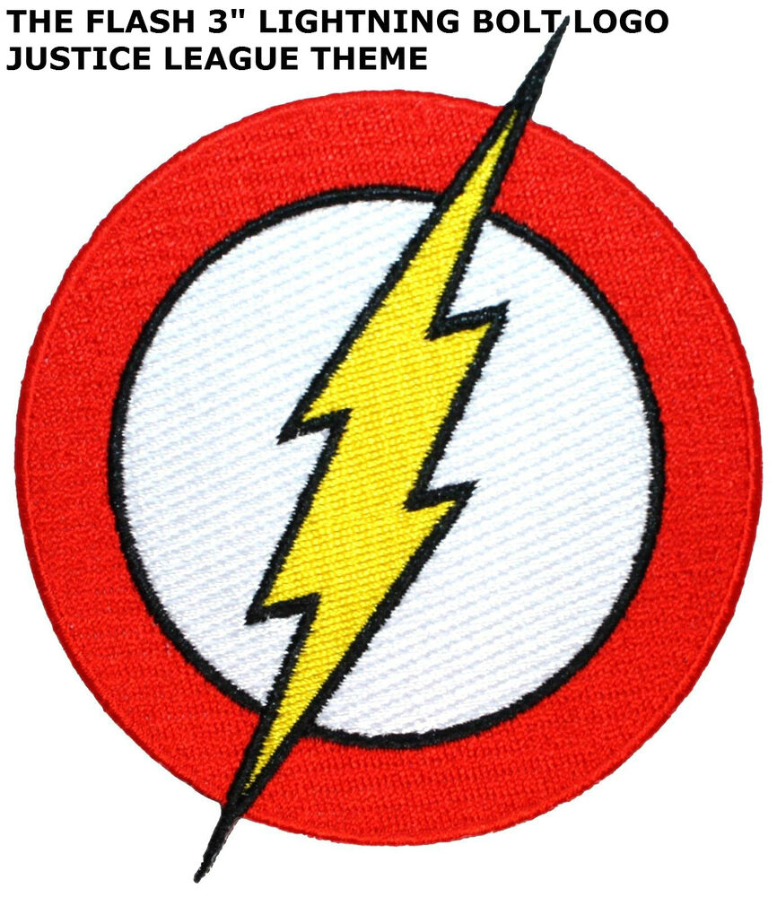 Dc comics flash lightning bolt logo emblem ironsew on 3 patch dc comics flash lightning bolt logo emblem ironsew on 3 patch superhero ebay buycottarizona Image collections